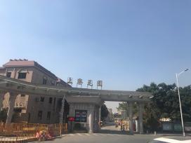 深圳市上寮花园照明亮化_篮球场LED投光灯、路灯亮化工程案